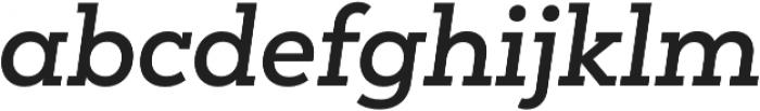 Peckham SemiBold It otf (600) Font LOWERCASE