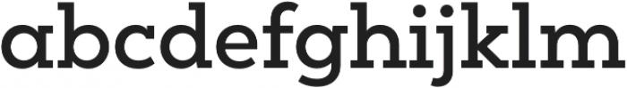 Peckham SemiBold otf (600) Font LOWERCASE