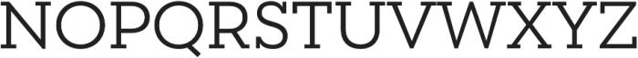 Peckham otf (400) Font UPPERCASE