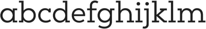 Peckham otf (400) Font LOWERCASE