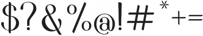 Pedrera otf (400) Font OTHER CHARS