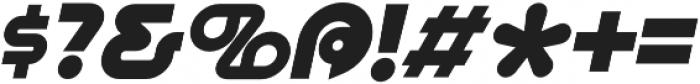 Pegazi Italic otf (400) Font OTHER CHARS