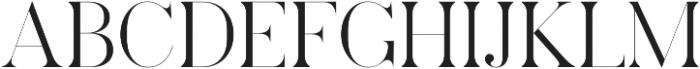 Pellago Display XLt otf (400) Font UPPERCASE