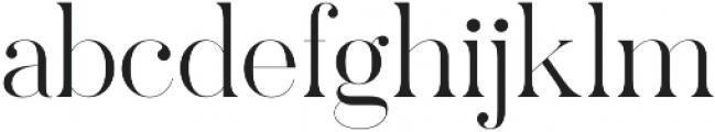 Pellago Display XLt otf (400) Font LOWERCASE