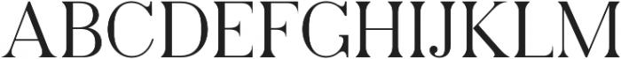 Pellago Text Light otf (300) Font UPPERCASE
