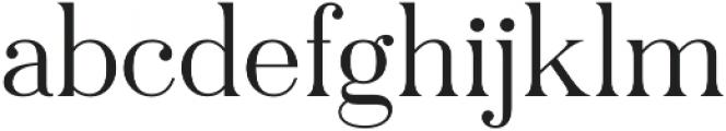 Pellago Text Light otf (300) Font LOWERCASE