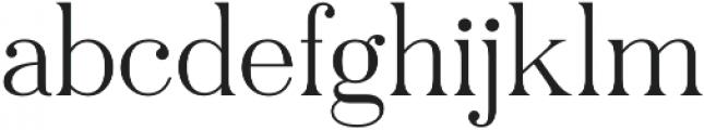 Pellago Text XLt otf (400) Font LOWERCASE