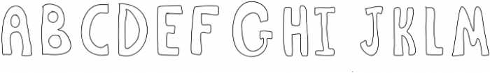Pen ttf (400) Font UPPERCASE