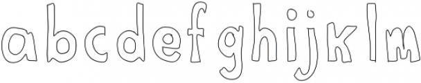 Pen ttf (400) Font LOWERCASE