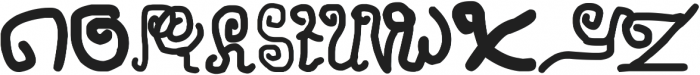 Penasaran otf (400) Font UPPERCASE