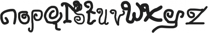 Penasaran otf (400) Font LOWERCASE