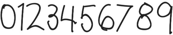 Pencil Regular otf (400) Font OTHER CHARS