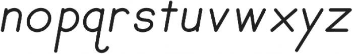 Penmanship otf (400) Font LOWERCASE