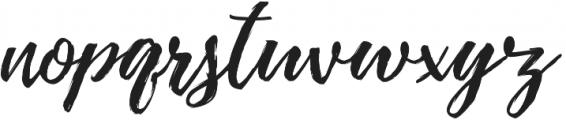 Pennello Script otf (400) Font LOWERCASE