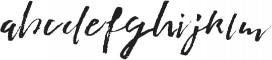 Penrhyme Sway ttf (400) Font LOWERCASE