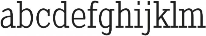 Pentay Light otf (300) Font LOWERCASE