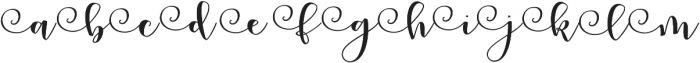 Peony Blooms L 2 otf (400) Font LOWERCASE