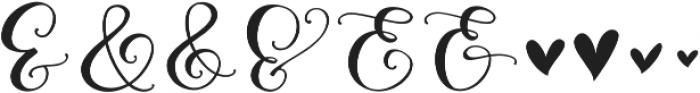 Peony Blooms xalt 1 otf (400) Font OTHER CHARS