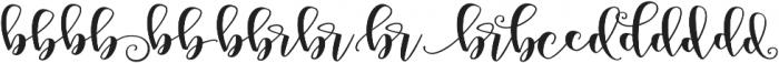 Peony Blooms xalt 1 otf (400) Font UPPERCASE
