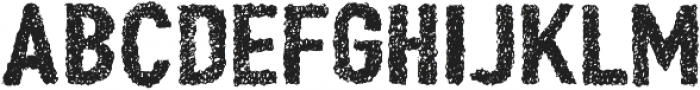 Peperoncino Doodle Rough otf (400) Font UPPERCASE