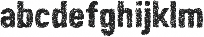 Peperoncino Doodle Rough otf (400) Font LOWERCASE