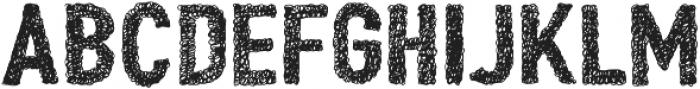 Peperoncino Sans Doodle otf (400) Font UPPERCASE