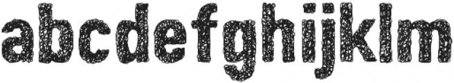 Peperoncino Sans Doodle otf (400) Font LOWERCASE