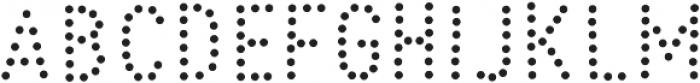 Peperoncino Sans Dots otf (400) Font UPPERCASE