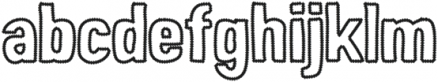 Peperoncino Sans Error otf (400) Font LOWERCASE
