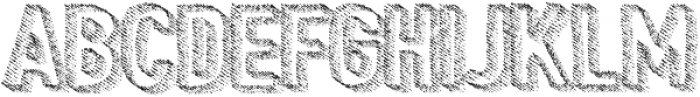Peperoncino Sans Jeans otf (400) Font UPPERCASE