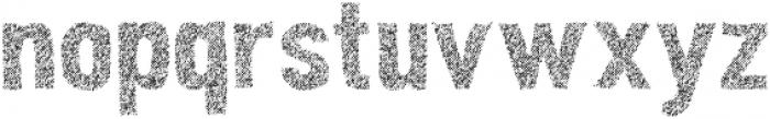 Peperoncino Sans Multiline Rough otf (400) Font LOWERCASE