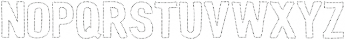 Peperoncino Sans Sparks otf (400) Font UPPERCASE