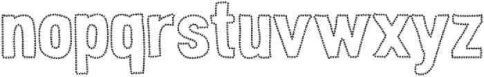 Peperoncino Sans Stars otf (400) Font LOWERCASE