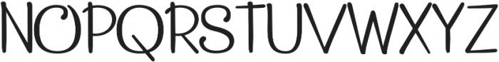 Pepita Script 2 Regular otf (400) Font UPPERCASE