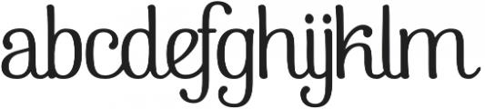 Pepita Script 2 Regular otf (400) Font LOWERCASE