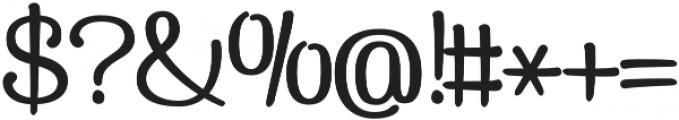 Pepita Script 3 Regular otf (400) Font OTHER CHARS
