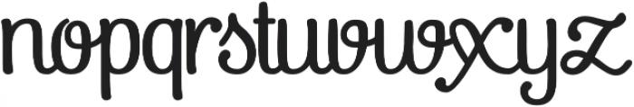 Pepita Script 3 Regular otf (400) Font LOWERCASE