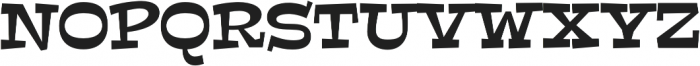Peralta Pro Regular otf (400) Font UPPERCASE