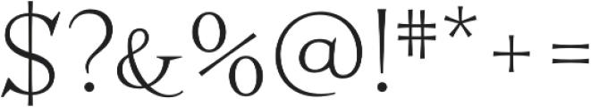 Perfect Magic Regular otf (400) Font OTHER CHARS
