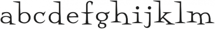 Perfect Magic Regular otf (400) Font LOWERCASE