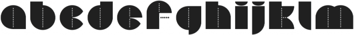 Perfopunto 4F Regular otf (400) Font LOWERCASE
