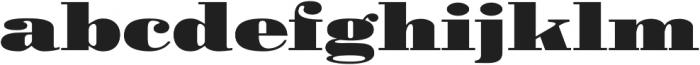 Pergamon Ext Bold otf (700) Font LOWERCASE