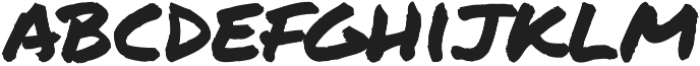 Permanent Marker Pro Regular otf (400) Font LOWERCASE