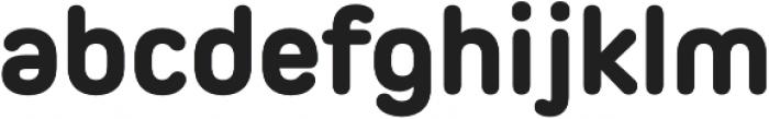 Pero ExtraBold otf (700) Font LOWERCASE