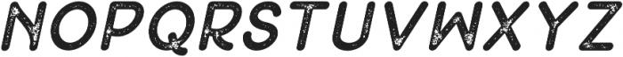 Peron Stamp Italic otf (400) Font UPPERCASE