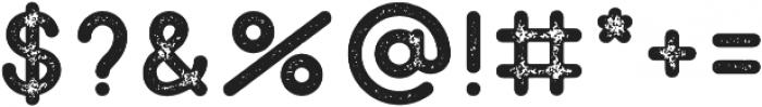 Peron Stamp Regular otf (400) Font OTHER CHARS