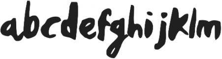 Perplex ttf (400) Font LOWERCASE