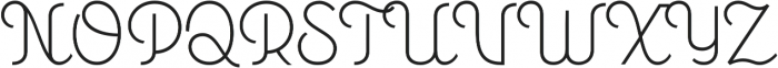 Personalitype otf (400) Font UPPERCASE