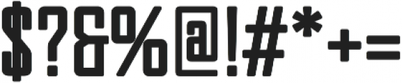 Pertamax otf (400) Font OTHER CHARS