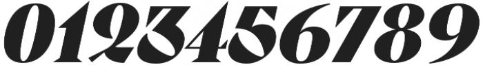 Pervinca Family ExtraBlack Italic otf (900) Font OTHER CHARS